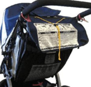 Stroller strangulation hazard