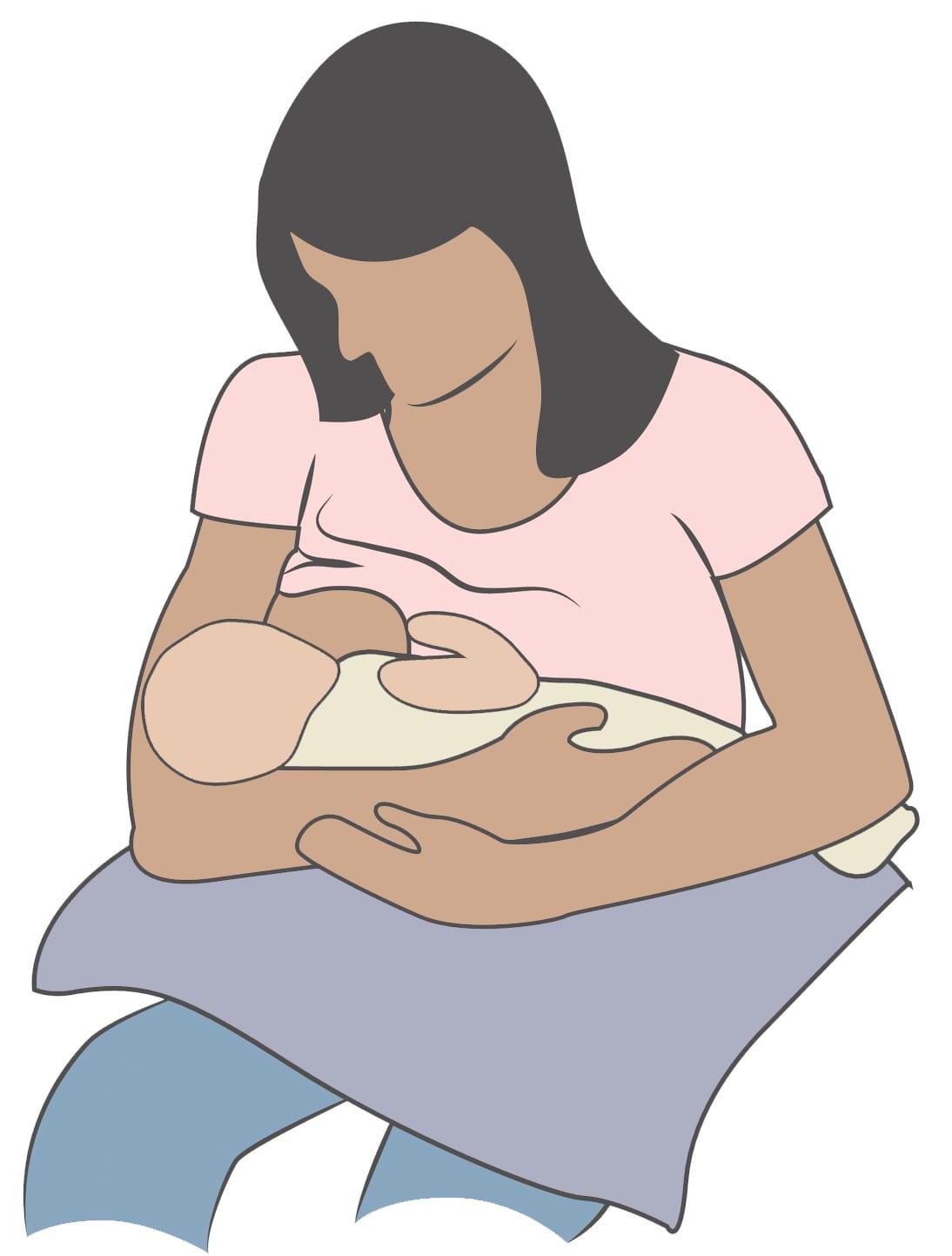 Top 5 Breastfeeding Positions Healthy Mom Baby