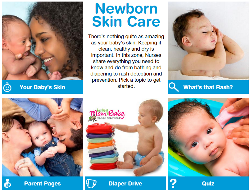 newborn skin care zone