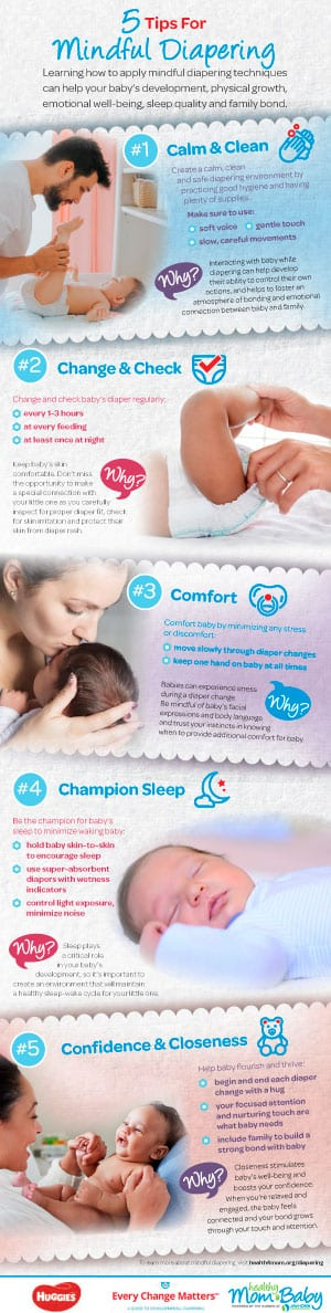 Every Change Matters Mindful Diapering Tips